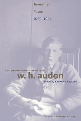 Juvenilia by W. H. Auden