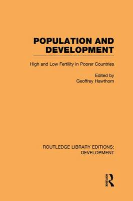 Population and Development by Geoffrey Hawthorn