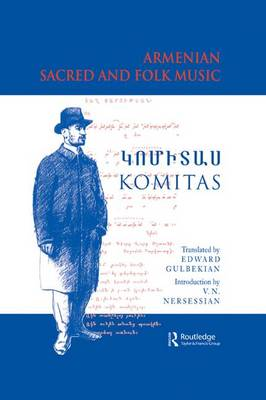 Armenian Sacred and Folk Music book