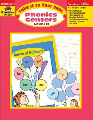 Phonics Centers Level B by Evan-Moor Educational Publishers