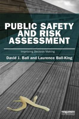 Public Safety and Risk Assessment by David J. Ball