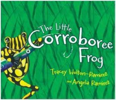 Little Corroboree Frog by Tracey Holton-Ramirez