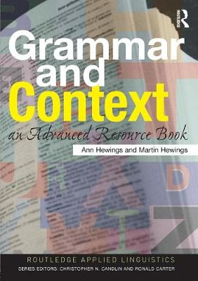 Grammar and Context by Ann Hewings