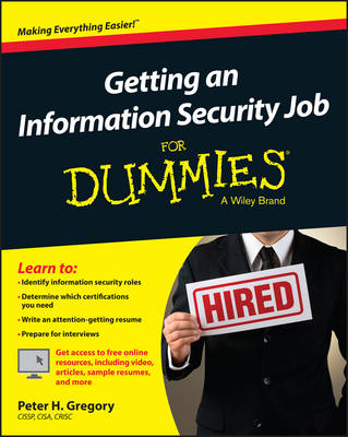 Getting an Information Security Job for Dummies book