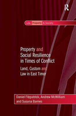 Property and Social Resilience in Times of Conflict by Daniel Fitzpatrick