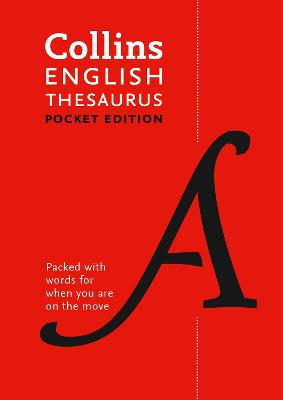 Collins English Thesaurus Pocket edition by Collins Dictionaries
