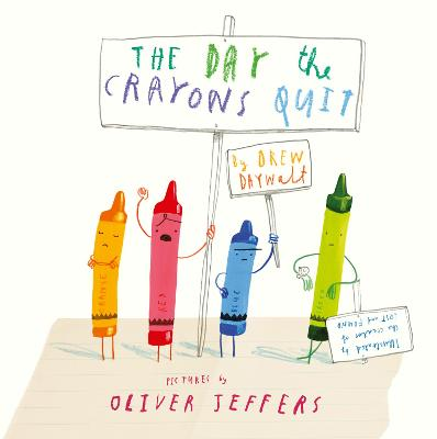 The Day The Crayons Quit book