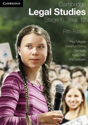 Cambridge Legal Studies Stage 6 Year 12 book