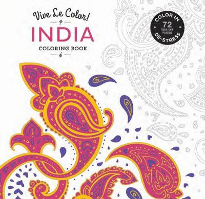 India Coloring Book by Abrams Noterie