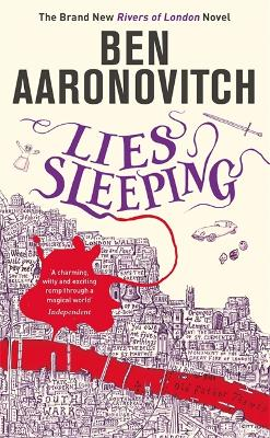 Lies Sleeping Book 7 Rivers of London by Ben Aaronovitch