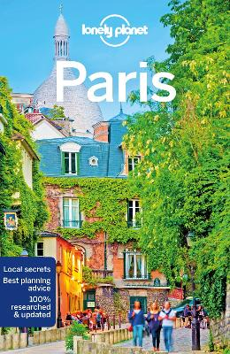 Lonely Planet Paris book