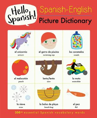 Spanish-English Picture Dictionary by Sam Hutchinson