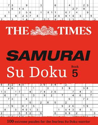 The Times Samurai Su Doku 5 by The Times Mind Games