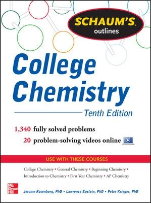 Schaum's Outline of College Chemistry by Jerome L. Rosenberg