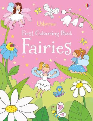 First Colouring Book Fairies book
