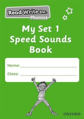Read Write Inc. Phonics: My Set 1 Speed Sounds Book Pack of 5 by Ruth Miskin