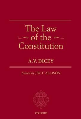 Law of the Constitution by J. W. F. Allison