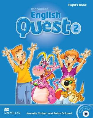Macmillan English Quest Level 2 Pupil's Book Pack by Jeanette Corbett