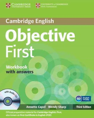 Objective First Workbook with Answers with Audio CD by Annette Capel