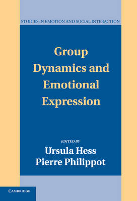 Group Dynamics and Emotional Expression book