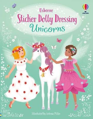 Sticker Dolly Dressing Unicorns book