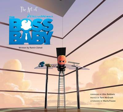 Art of The Boss Baby book