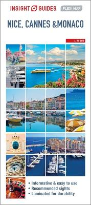 Insight Flexi Map Nice, Cannes and Monaco Map by APA Publications Limited