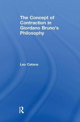 Concept of Contraction in Giordano Bruno's Philosophy book