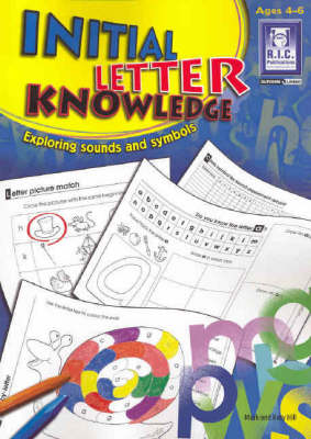 Initial Letter Knowledge Ages 4-6 by
