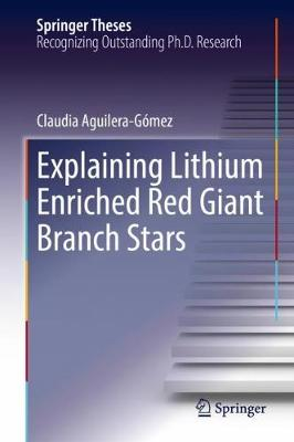 Explaining Lithium Enriched Red Giant Branch Stars by Claudia Aguilera-Gomez