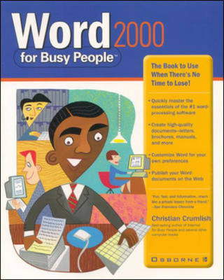 Word 2000 for Busy People by Christian Crumlish