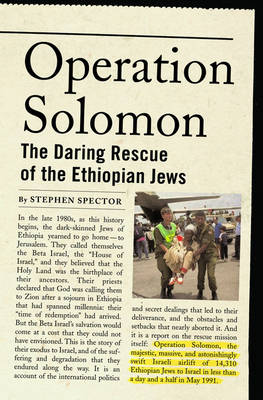 Operation Solomon by Stephen Spector