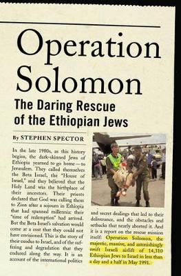 Operation Solomon by Stephen Spector