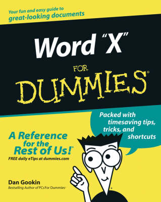 Word 2003 For Dummies book