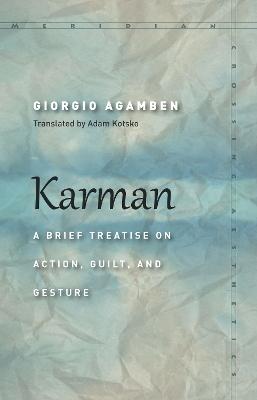 Karman by Giorgio Agamben