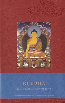 Buddha Hardcover Ruled Journal by Romio Shrestha