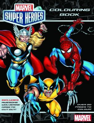 Marvel: Marvel Super Heroes Colouring Book book