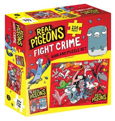 Real Pigeons Fight Crime Book and Puzzle Set: Real Pigeons Fight Crime book