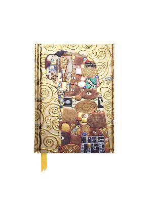 Klimt: Fulfilment (Foiled Pocket Journal) by Flame Tree Studio