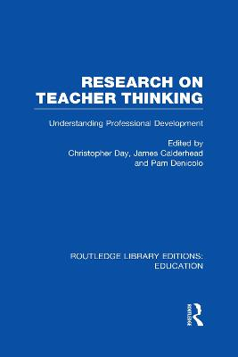Research on Teacher Thinking book