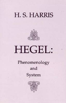 Phenomenology and System book