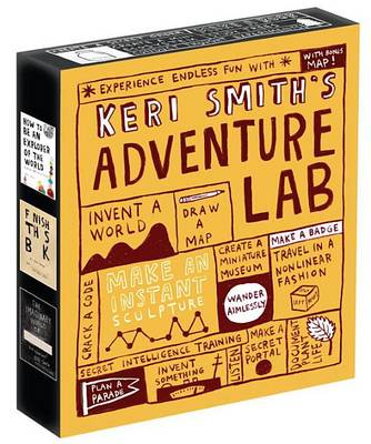 Keri Smith's Adventure Lab book