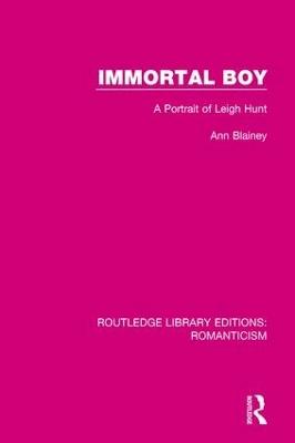 Immortal Boy by Ann Blainey