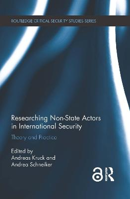 Researching Non-state Actors in International Security by Andreas Kruck