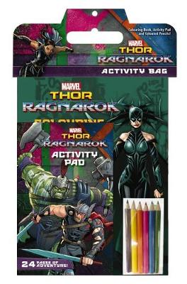 Marvel: Thor: Ragnarok Activity Bag book