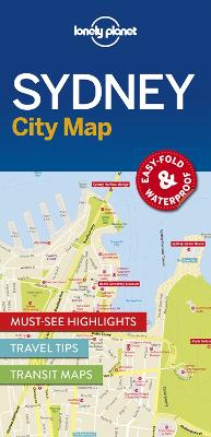 Lonely Planet Sydney City Map by Lonely Planet