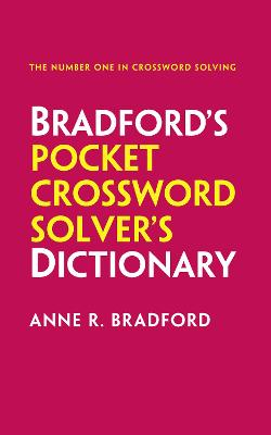 Collins Bradford's Pocket Crossword Solver's Dictionary by Anne R. Bradford