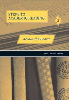 Steps to Academic Reading 3: Across the Board book