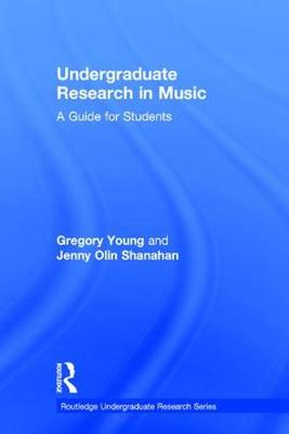 Undergraduate Research in Music by Gregory Young