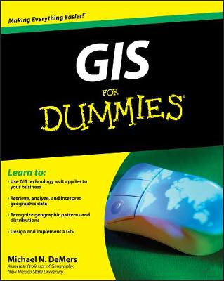 GIS For Dummies book